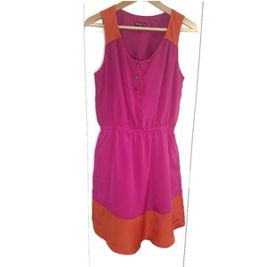 Merona Color Block Pullover Dress